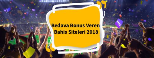 bedava bonus veren bahis siteleri 2018